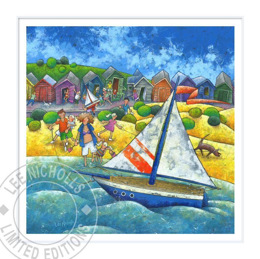 Lee Nicholls Art The Yachtsman